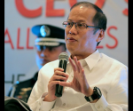 President Benigno S. Aquino III expresses his views during the 13th CEO Forum and 118th General Membership Meeting of the Semiconductor and Electronics Industries in the Philippines (SEIPI) at The Peninsula Manila in Makati City on Tuesday (October 28). The SEIPI is the largest organization of foreign and Filipino semiconductor and electronics companies in the Philippines. (Photo by Benhur Arcayan / Malacañang Photo Bureau)