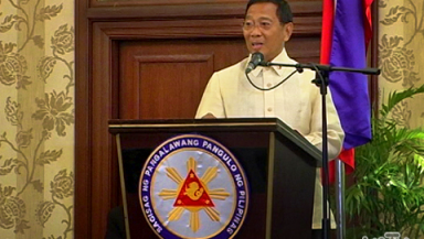 FILE PHOTO: Vice President Jejomar Binay (UNTV News)
