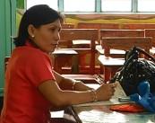 Isang guro habang inaayos ang kaniyang class record (UNTV News)