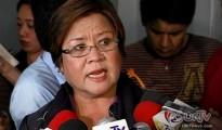 FILE PHOTO: Department of Justice Secretary Leila de Lima (UNTV News)