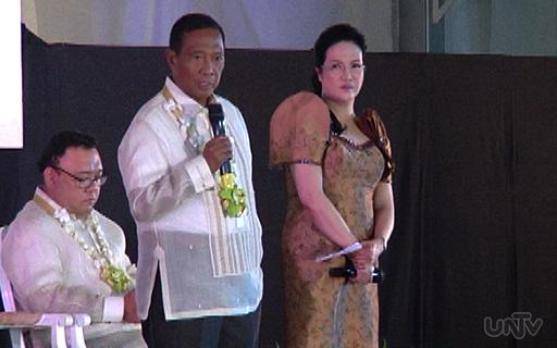 Si Vice President Jejomar Binay sa pagdalo nito sa Public Attorney's Office National Convention nitong Martes, Oktubre 14, 2014. (UNTV News)