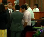 Bahagi ng ginanap na pagdinig sa Sandiganbayan nitong Lunes ukol sa PDAF Scam na kinasasangkutan ng umano ni Senator Jinggoy Estrada. (UNTV News)