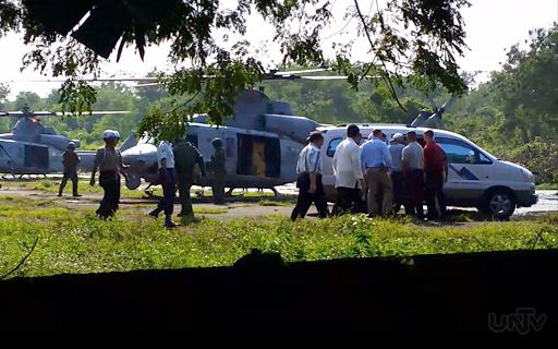 FILE PHOTO: Ang pagdating sa Camp Aguinaldo ni  U.S. Marine Private First Class Joseph Scott Pemberton upang mai-detena habang dinidinig ang kaso nito kaugnay ng pagkamatay ng Filipino transgender na si Jennifer Laude. (UNTV News)