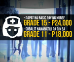 GRAPHICS: Requested Salary Increase for Nurse (UNTV News)