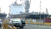 FILE PHOTO: Isang foreign vessel na nakadaong sa puerto (UNTV News)