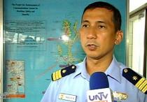 FILE PHOTO: Philippine Coast Guard Spokesperson Lt. Cmdr. Armand Balilo (UNTV News)