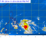 Satelite image from PAGASA