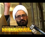 Iranian refugee Man Haron Monis speaks in this still image taken from undated file footage. Mandatory credit CREDIT: REUTERS/ABC VIA REUTERS TV