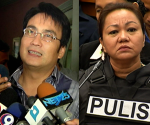 FILE PHOTO: Senator Ramon 'Bong' Revilla Jr. and Pork Barrel Scam Suspect Janet Lim-Napoles (UNTV News)