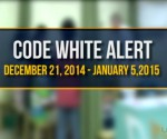 Code White Alert