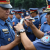 CIDG Director PD BENJAMIN B MAGALONG joins the PNP National Headquarters Personnel in the simultaneous gun muzzle taping held in Camp Crame on Monday (December 22). The traditional gun muzzle was conducted from the National Headquarters down to Police Regional Offices, Provincial Offices, City and Municipal Police Stations nationwide to assure the public that PNP personnel will not discharge their firearms as prevention of casualties and injuries during the revelry of the yuletide. (PNP-PIO PHOTO)