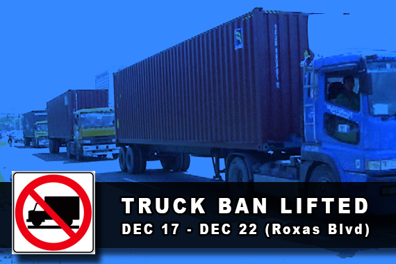 MMDA Truck Ban Lift (UNTV News)