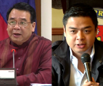 FILE PHOTOS: (L-R) Rep. Neri Colmenares and Rep. Teri Ridon (UNTV News)