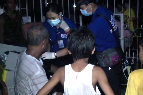 Mga nasugatan sa sunog sa Katipunan Cebu, tinulungan ng UNTV News