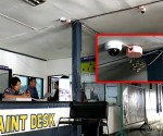 Ilan sa mga CCTV na naka-install QCPD Kamuning Police station 10. (UNTV News)