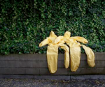 Protective suits are left to dry after an Ebola training session held by Spain's Red Cross in Madrid October 29, 2014. CREDIT: REUTERS/SUSANA VERA