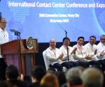 Pagdalo ni Pangulong Benigno Aquino III sa  International Contact Center Conference and Exposition nitong Miyerkules, January 28, 2015 sa SMX Convention Center. (Photo by Benhur Arcayan / Robert Vinas / Malacañang Photo Bureau)