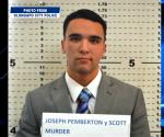 FILE PHOTO: Mug shot of US Marine Lance Corporal Joseph Scott Pemberton (PNP-Olongapo)