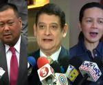 FILE PHOTO: Senators JV Ejercito, TG Guingona and Grace Poe (UNTV News)