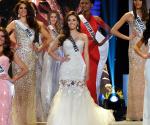 Ang pambato ng Pilipinas na si Ms. MJ Lastimosa na nakapasok sa Top 5 ng Miss Universe 2014. (AARON ROMERO / Photoville International / UNTV News)