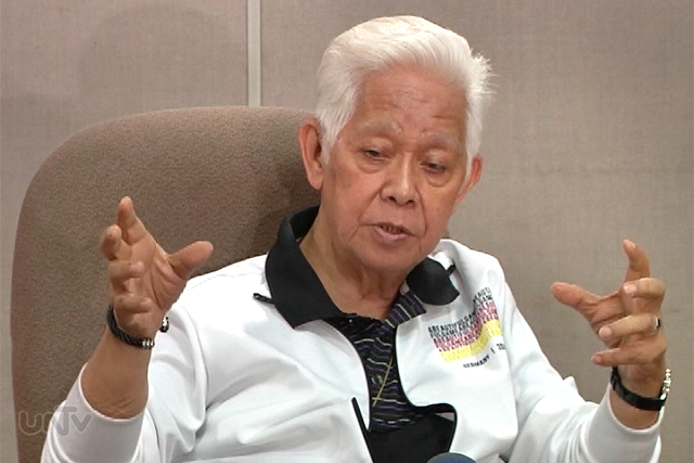 COMELEC Chairman Sixto Brillantes Jr. (UNTV News)
