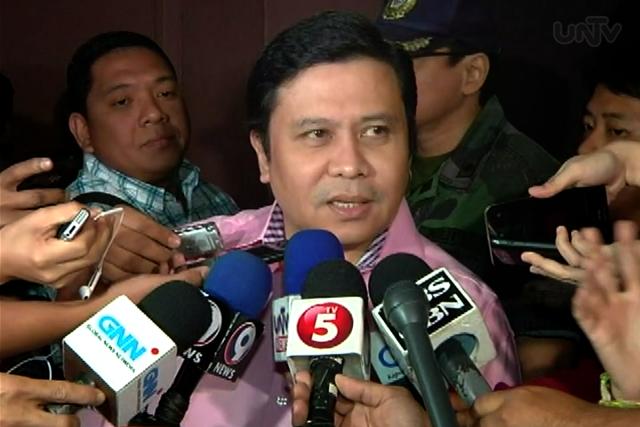 FILE PHOTO: Senator Jinggoy Estrada (UNTV News)