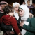 Anwar Tarawneh (R), the wife of Islamic State captive Jordanian pilot Lieutenant Muath al-Kasaesbeh, and his sister (C) weep after listening to a statement released by Islamic State in front of the More... CREDIT: REUTERS/MUHAMMAD HAMED