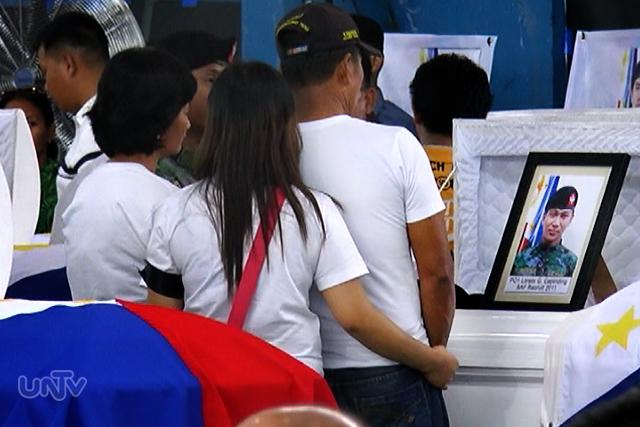 Pamilya ng isa sa SAF44  (UNTV News)