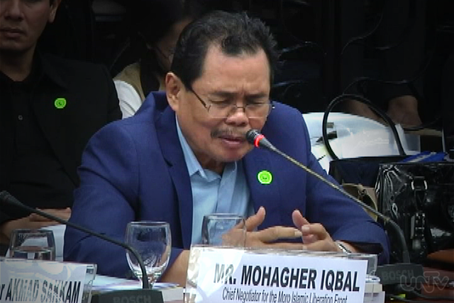 Bangsamoro Transition Authority Chairman Mohagher Iqbal (UNTV News)