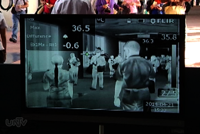 FILE PHOTO: Thermal scanner (UNTV News)