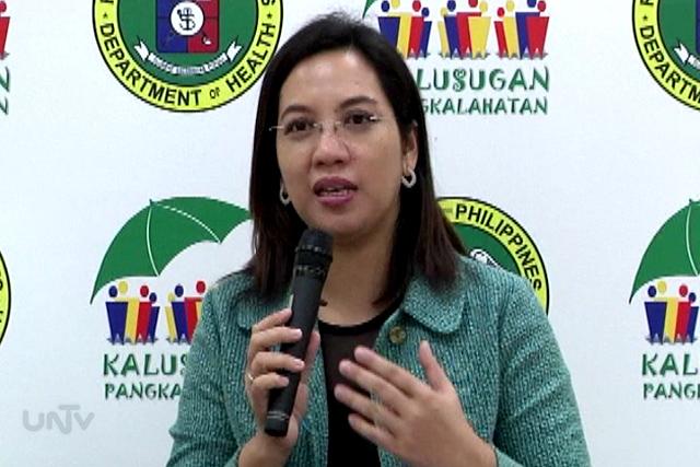 Department of Health acting Secretary Janet Garin (UNTV News)