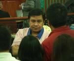 FILE PHOTO: Senator Jinggoy Estrada inside a Sandiganbayan courtroom (UNTV News)