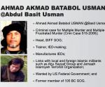 International terrorist Basit Usman profile (The Official Gazette)