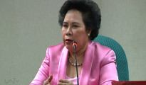 FILE PHOTO: Senator Miriam Defensor Santiago (UNTV News)