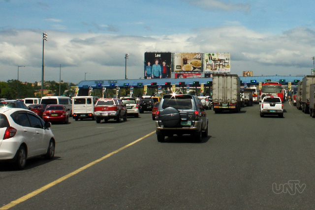 FILE PHOTO: NLEX-Balintawak toll gate (Photoville International)