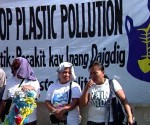 A demonstration part of Ecowaste Coalition's call for a 'Nationwide Plastic Ban' (UNTV News)