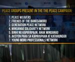 Ang mga grupong nagsusulong ng pangkapayapaan para sa Mindanao (UNTV News)