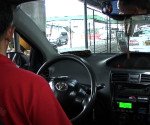FILE PHOTO: Inside a taxi (UNTV News)
