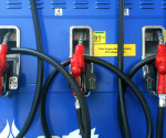 FILE PHOTO: PTT fuel pumps  (ENRICO OROLA / Photoville International)