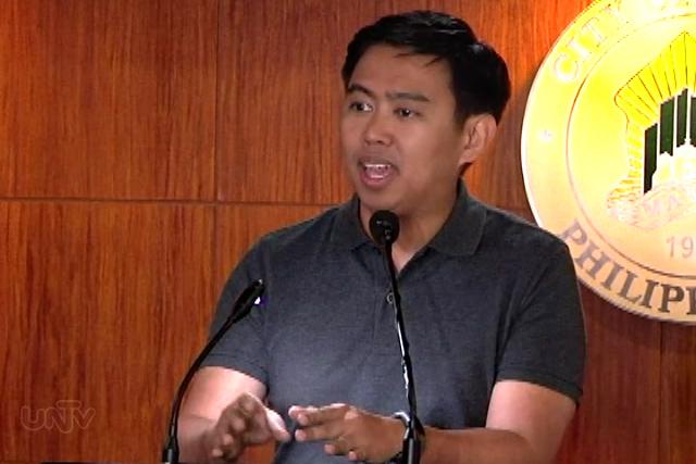 FILE PHOTO: Makati City Mayor JunJun Binay (UNTV  News)