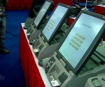 Some DRE machines of a company bidding for 2016 elections. (UNTV News)