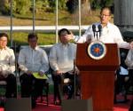 FILE PHOTO: Si Pangulong Benigno Aquino III sa pagsagot sa isang tanong ukol sa Mamasapano operation sa ginanap na Presidential prayer meeting noong March 9, 2015. (Photoville International)