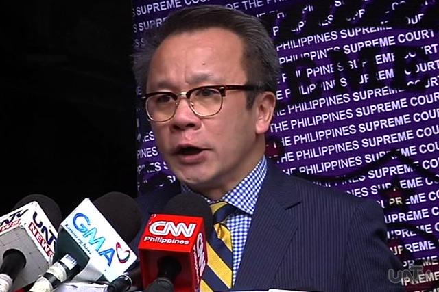 Supreme Court Spokesperson Theodore Te