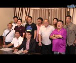 Si Mr. Public Service Kuya Daniel Razon kasama ang ilan sa 24 PBA Legends na maglalaro sa Skywalker Exhibition Game sa April 28, 2015 sa Smart-Araneta Coliseum. (UNTV News)