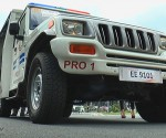 Mahindra Patrol Enforcer jeep (UNTV News)