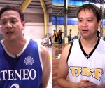 (LEFT-RIGHT) Judiciary Magis and Malacañang Patriots team captains: Justice Jose Midas Marquez and TESDA Sec. Joel Villanueva (UNTV News)