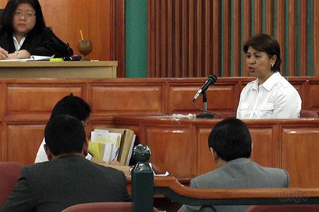PDAF Scam Whistleblower Marina Sula (UNTV News)