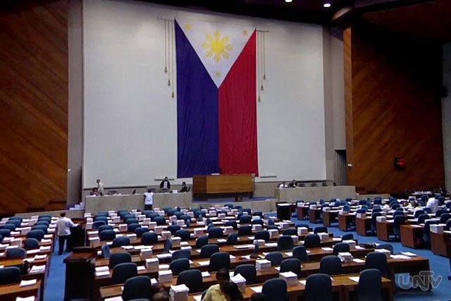 FILE PHOTO: House of Representatives (UNTV News)