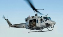 FILE PHOTO: UH-1N Huey helicopter (U.S. Navy Photo by Mass Communication Specialist 3rd Class Ian Carver/Released)