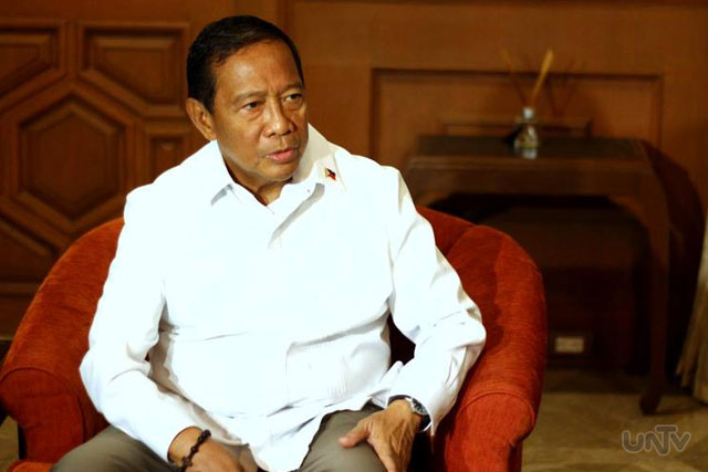 FILE PHOTO: Vice President Jejomar Binay (UNTV News)